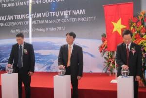 khởi công Trung tâm vũ trụ Việt Nam